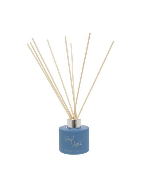 Diffuser Good Night: Airy Lavender, Houder: glas, Diffuser: 60% oplosmiddel, 31% alco, Blauw, Ø 7 x H 25 cm