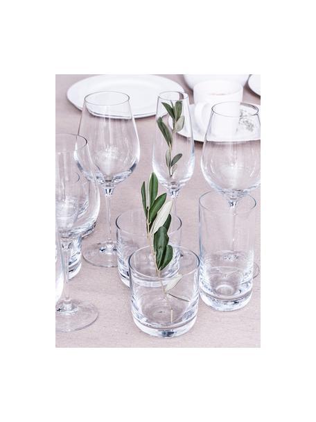 Bicchiere long drink in cristallo liscio Harmony 6 pz, Cristallo, Trasparente, Ø 7 x Alt. 15 cm