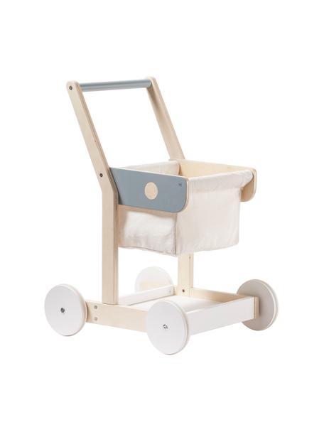 Spielzeug Shopping Cart, Holz, Textil, Mehrfarbig, 29 x 50 cm