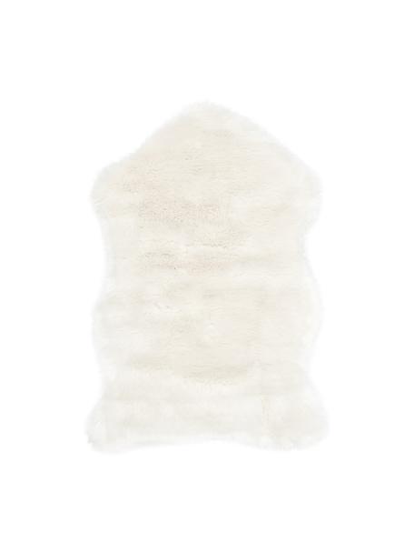 Kunstvacht Mathilde, glad, Bovenzijde: 65% acryl, 35% polyester, Onderzijde: 100% polyester, Crèmekleurig, 60 x 90 cm