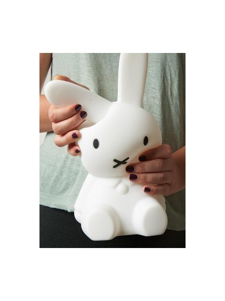 Lampada da tavolo coniglietto a LED Miffy, Silicone, privo di BPA, Bianco, Larg. 15 x Alt. 30 cm