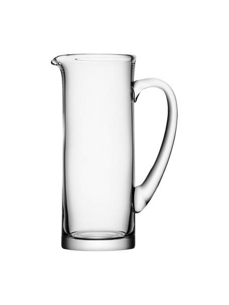 Jarra Basis, 1,5L, estilo clásico, Vidrio, Transparente, Al 27 cm