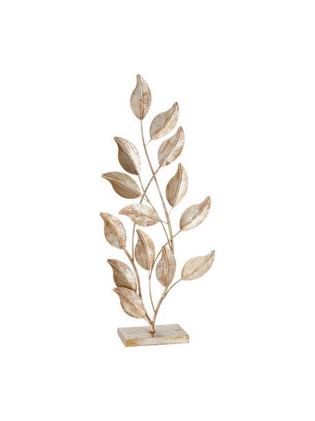 Oggetto decorativo in metallo Lingua, Metallo verniciato, Dorato, Larg. 30 x Alt. 74 cm