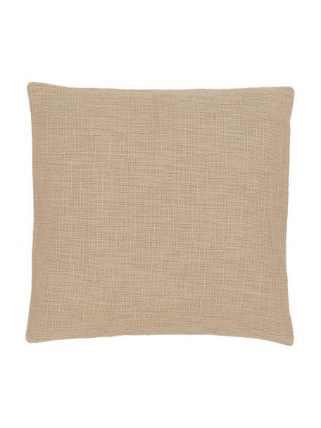 Kissenhülle Anise in Beige, 100% Baumwolle, Beige, 45 x 45 cm