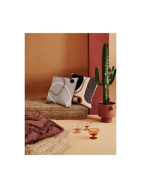 Set de fundas de cojín Pablo, 2uds., 100%algodón, Multicolor, blanco, An 45 x L 45 cm