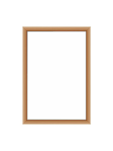Fotolijstje Accent, Lijst: gecoat aluminium, Koperkleurig, 10 x 15 cm