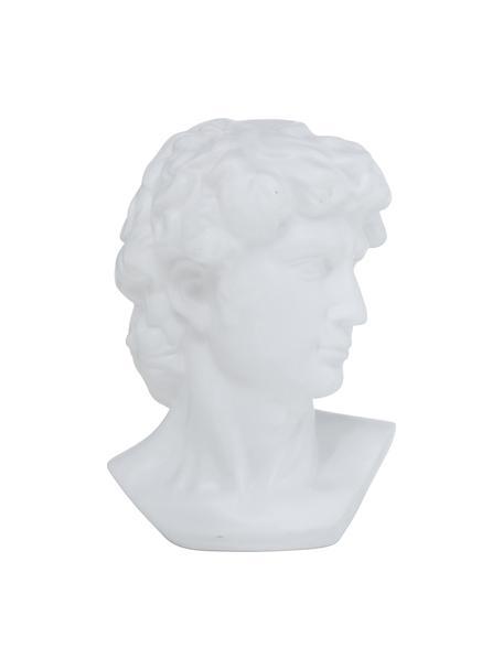 Oggetto decorativo Ludovico, Gres, Bianco, Larg. 20 x Alt. 29 cm