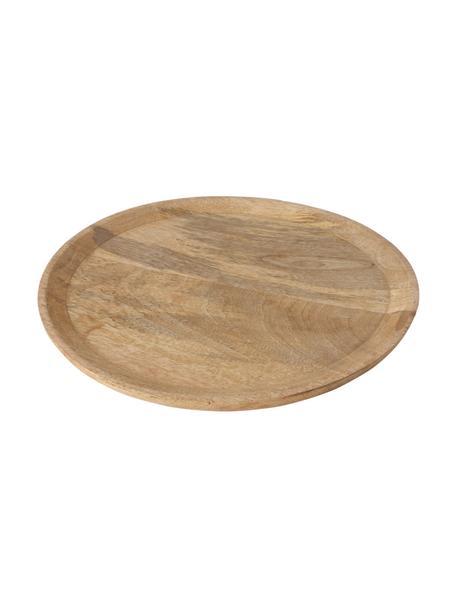 Komplet tacy dekoracyjnych Main, 2 elem., Drewno mangowe, Brązowy, Komplet z różnymi rozmiarami
