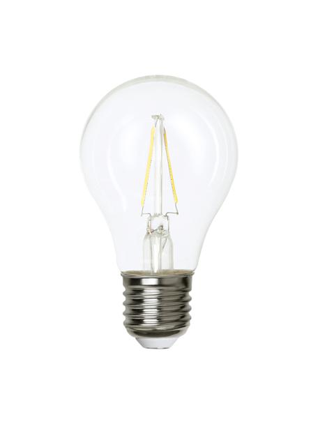 Lampadina E27, 2W, bianco caldo 1 pz, Lampadina: vetro, Trasparente, Ø 6 x Alt. 11 cm