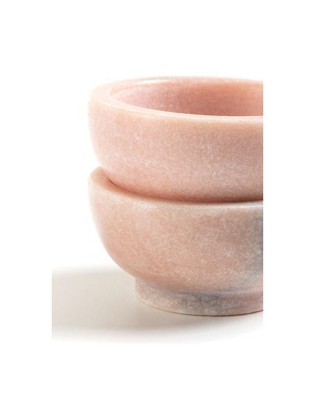 Ciotolina in marmo Callhan 2 pz, Ceramica, marmo, Rosa, marmorizzato, Ø 8 cm