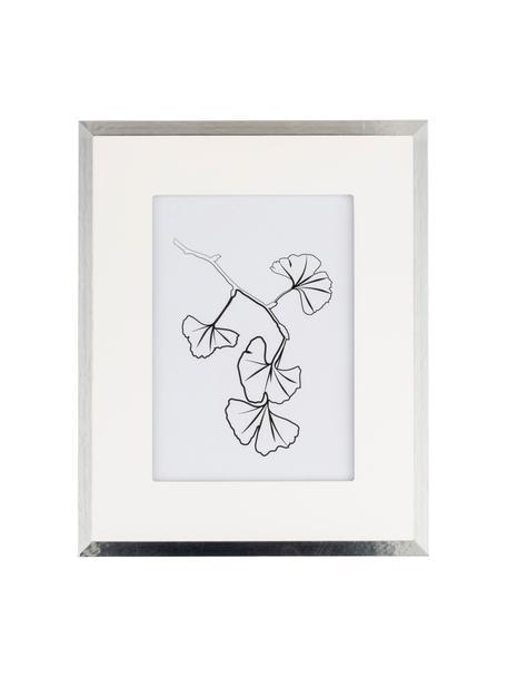 Cornice portafoto Austin Plants, Cornice: pannello di fibra a media, Argentato, 13 x 18 cm