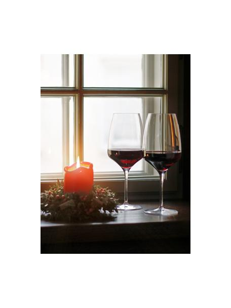 Copas de vino tinto de cristal Experience, 6uds., Cristal, Transparente, Ø 11 x Al 23 cm