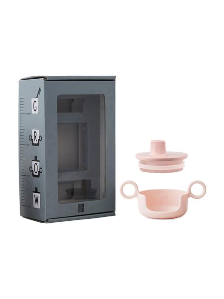 Erweiterungsset Grow With Your Cup, 2-tlg., Melamin, Rosa, 14 x 8 cm