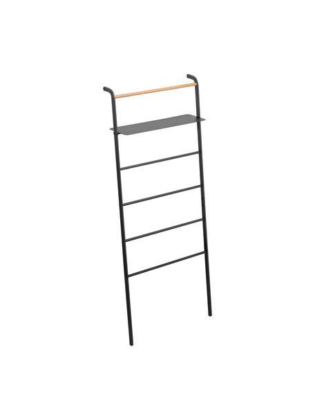 Estantería escalera de metal Lena, Estructura: metal con pintura en polv, Negro, An 66 x Al 160 cm