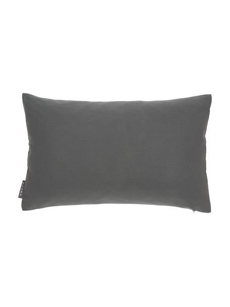 Outdoor-Kissenhülle Blopp, Dralon (100% Polyacryl), Anthrazit, 30 x 47 cm