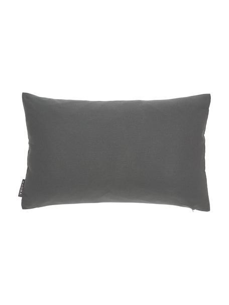 Outdoor kussenhoes Blopp, Dralon (100% polyacryl), Antraciet, 30 x 47 cm