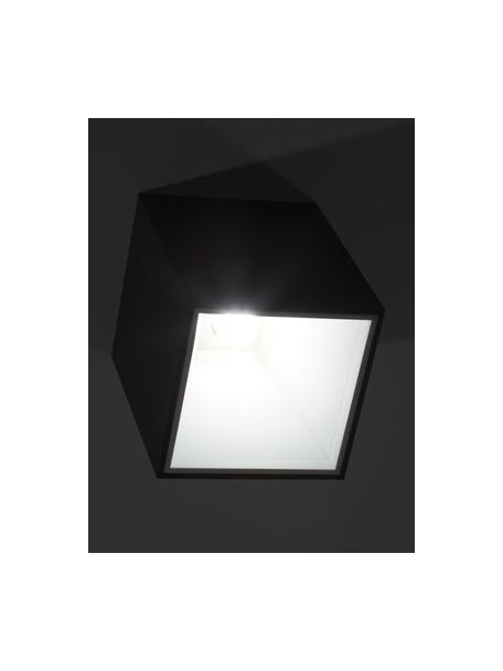 Lampa spot LED Marty, Czarny, biały, S 10 x W 12 cm
