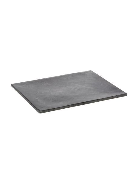 Granit-Servierplatte Klevina, L 28 x B 22 cm, Granit, Grau, 22 x 28 cm