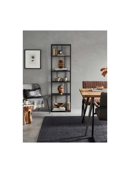 Wazon ze szkła Bulli, Szkło, Brązowy, transparentny, Ø 18 x W 24 cm