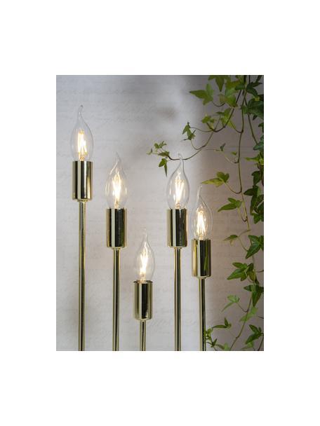 E14 Leuchtmittel, 1.5W, warmweiss, 8 Stück, Leuchtmittelschirm: Glas, Leuchtmittelfassung: Aluminium, Transparent, Ø 4 x H 12 cm
