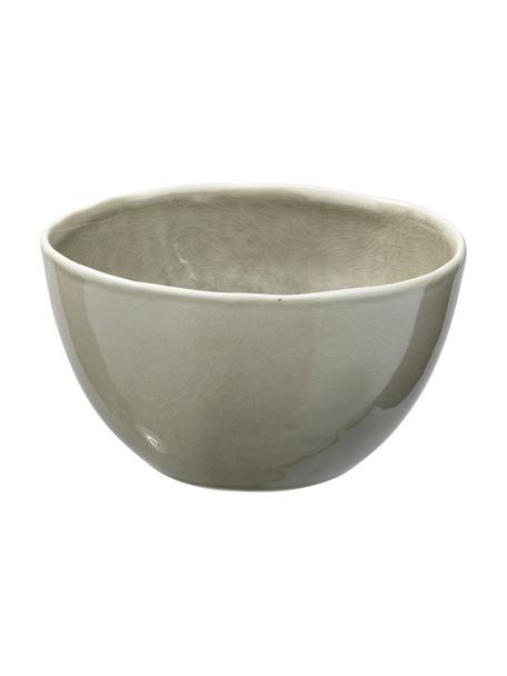 Cuencos Porcelino Sea, 6uds., Porcelana, Gris verdoso, beige, Ø 14 x Al 8 cm