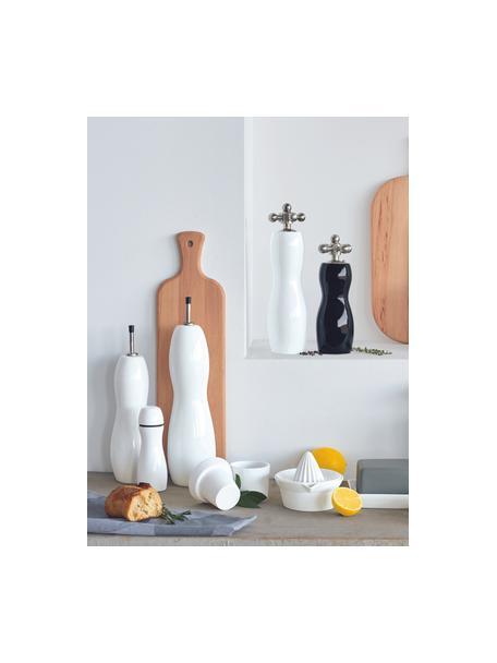 Azijn- en olie-dispenser Cuisine, verschillende formaten, Porselein, Wit, Ø 5 x H 25 cm