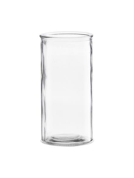 Mały wazon ze szkła Cylinder, Szkło, Transparentny, Ø 10 x W 20 cm