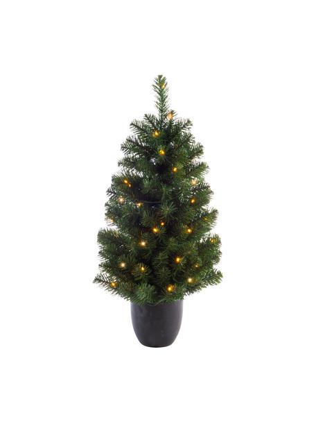 Decoratieve LED kerstboom Imperial, Kunststof, Groen, Ø 50 x H 90 cm