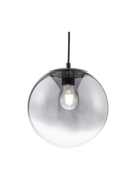 Lampa wisząca ze szkła Mirror, Odcienie chromu, transparentny, Ø 25 cm
