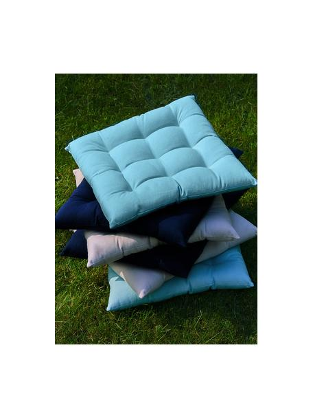 Poduszka na krzesło Ava, Niebieski, S 40 x D 40 cm
