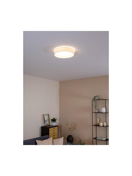 LED plafondlamp Helen in wit, Frame: metaal, Diffuser: kunststof, Wit, Ø 35 x H 7 cm