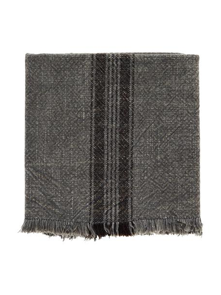 Strofinaccio in cotone a righe Ripo 2 pz, 100% cotone, Grigio scuro maculato, nero, Larg. 50 x Lung. 70 cm