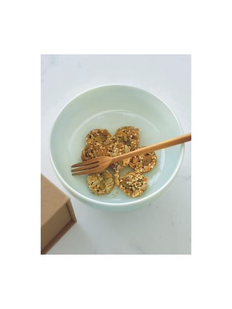 Porzellan-Schälchen Kolibri in Mintgrün glänzend, 6 Stück, Porzellan, Mintgrün, Ø 13 x H 6 cm