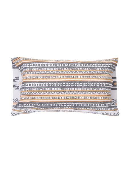 Fundas de almohada Aztec, 2uds., 50x85cm, 100%algodón El algodón da una sensación agradable y suave en la piel, absorbe bien la humedad y es adecuado para personas alérgicas, Multicolor, An 50 x L 85 cm