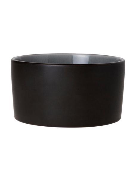 Cuencos Lagune, 2uds., Cerámica, Gris topo, gris claro, Ø 12 x Al 6 cm