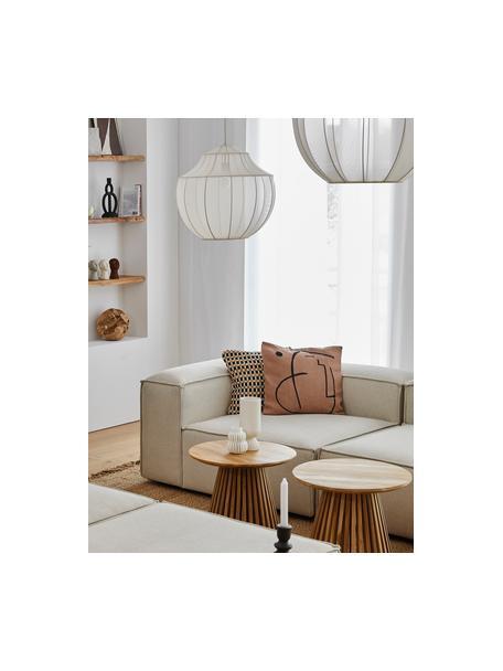 Poszewka na poduszkę Nova Punkt, Tapicerka: 85% bawełna, 8% wiskoza, , Brązowy, czarny, S 50 x D 50 cm