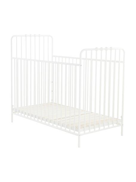 Łóżeczko dziecięce Bexley, Biały, 60 x 120 cm