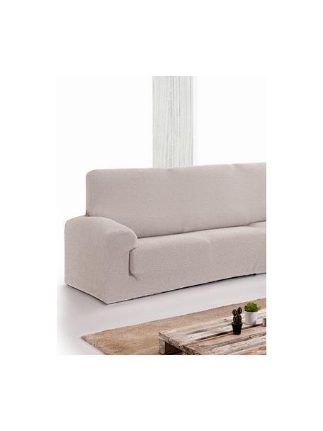 Pokrowiec na sofę narożną  Roc, 55% poliester, 35% bawełna, 10% elastomer, Odcienie kremowego, S 600 x W 120 cm