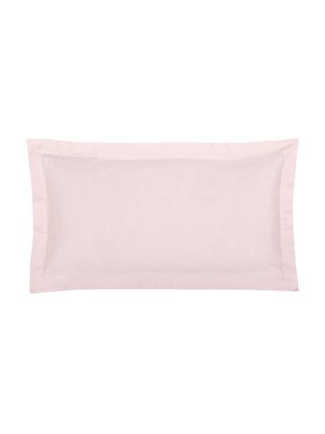 Poszewka na poduszkę z organicznej satyny bawełnianej Premium, 2 szt., Blady różowy, S 40 x D 80 cm
