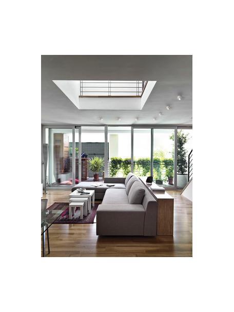 Faretto a soffitto bianco Anzio, Lampada: alluminio rivestito, Bianco, Ø 8 x Alt. 5 cm