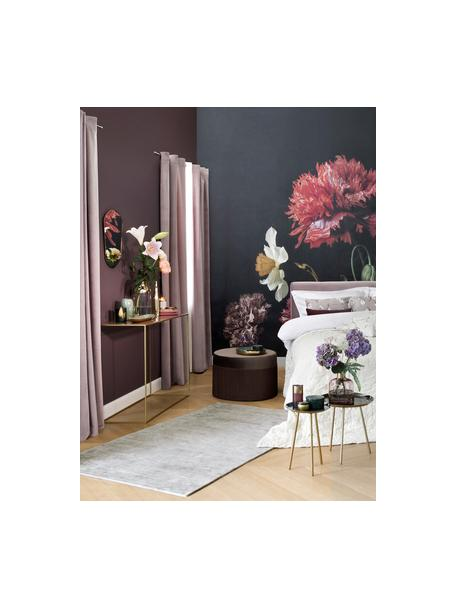 Ręcznie tkany dywan z wiskozy Jane, Jasny szarobeżowy, S 90 x D 150 cm (Rozmiar XS)
