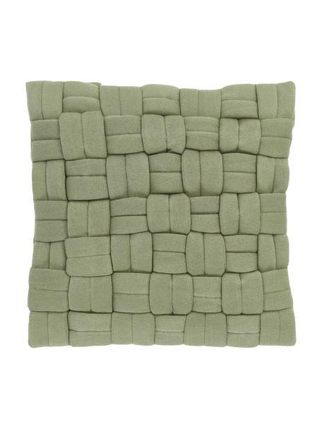 Federa arredo verde salvia Norman, Verde, Larg. 40 x Lung. 40 cm