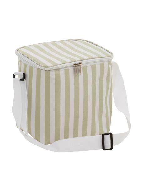 Borsa termica da picnic Clair, Rivestimento: poliestere, Beige, bianco latteo, Larg. 25 x Alt. 24 cm