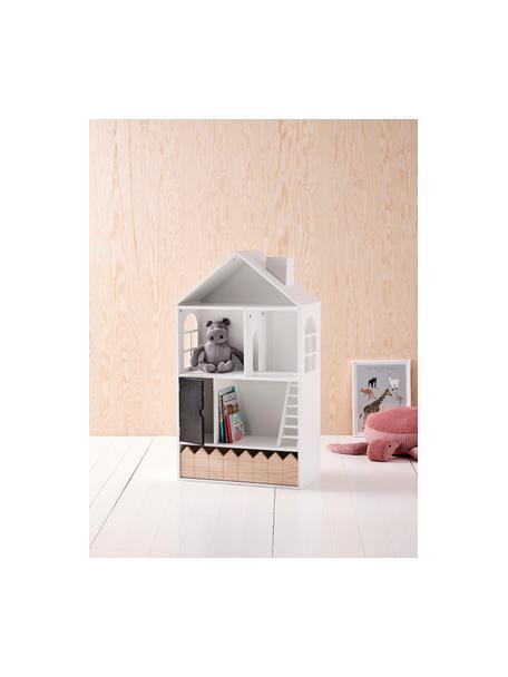 Domek dla lalek Mi Casa Su Casa, Drewno sosnowe, płyta pilśniowa średniej gęstości (MDF), Biały, czarny, S 61 x W 106 cm