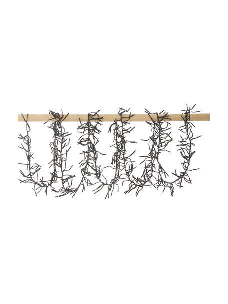LED-Lichterkette Belek, warmweiss, Kunststoff, Schwarz, L 800 cm