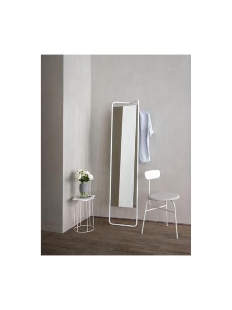 Narożne lustro stojące Kasch, Biały, S 42 x W 175 cm