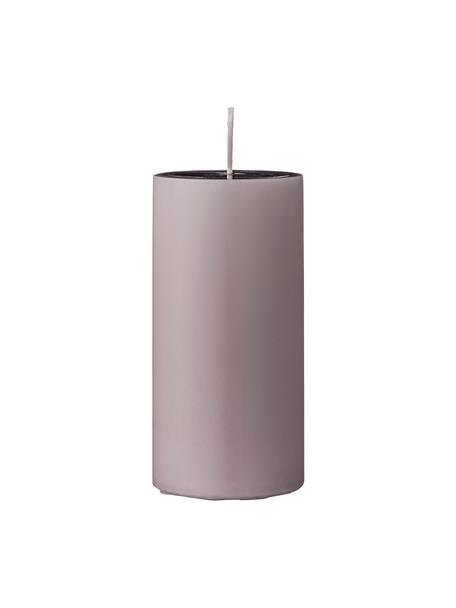 Świece pieńkowe Lulu, 2 elem., Wosk, Blady różowy, Ø 7 x W 15 cm