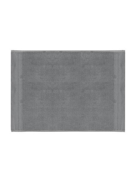 Dywanik łazienkowy antypoślizgowy Premium, 100% bawełna, Wysoka gramatura 600 g/m², Ciemnyszary, S 50 x D 70 cm