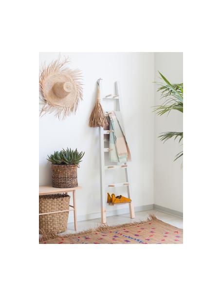 Regał drabinkowy Helia, Drewno sosnowe, powlekane, Jasny szary, drewno sosnowe, S 46 x W 170 cm