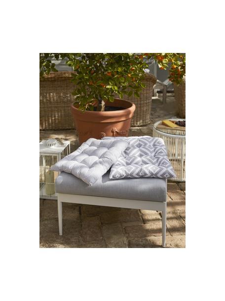 Poduszka na krzesło Miami, Szary, S 40 x D 40 cm